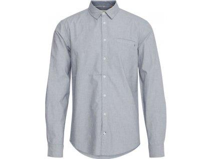 Pánská košile Blend 20710567 74646 šedá