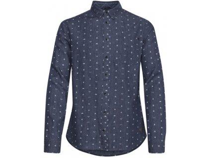 Pánská košile Blend 20710933 76201 šedá