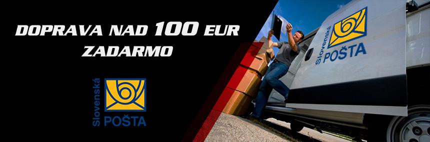 Doprava na 100,- eur ZADARMO!