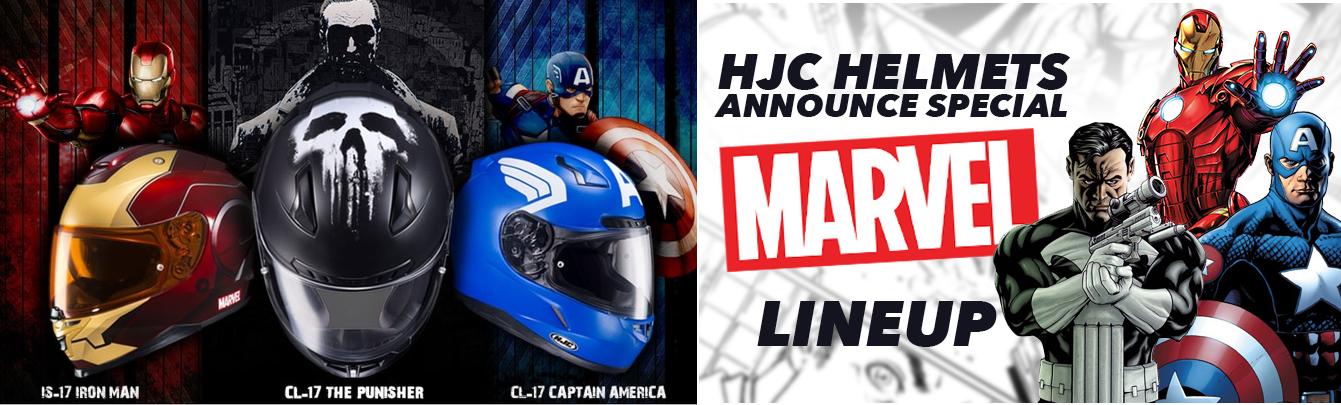 NOVINKA 2017 - Marvel prilby od HJC HELMETS