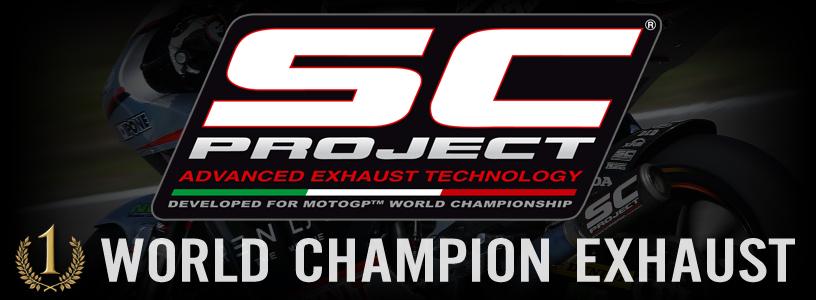 Moto výfuky SC PROJECT - voľba šampiónov
