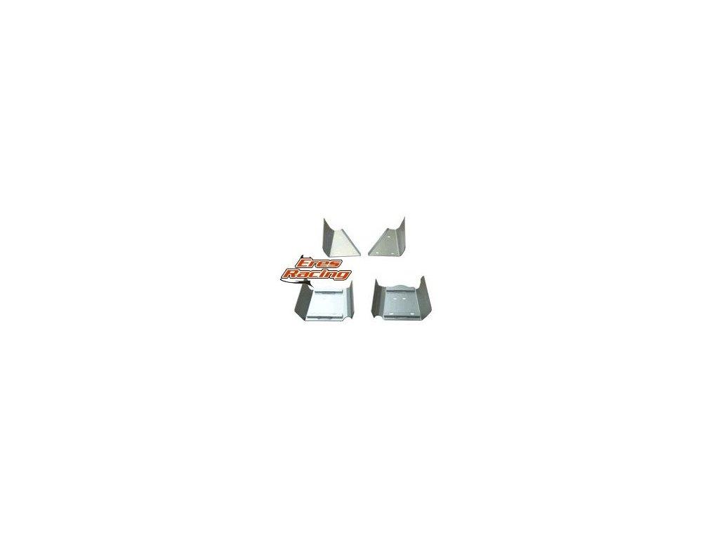 Kryty podvozka POLARIS Sportsman 500/700/800 RICOCHET Set obsahuje kryty + komponenty pre montáž