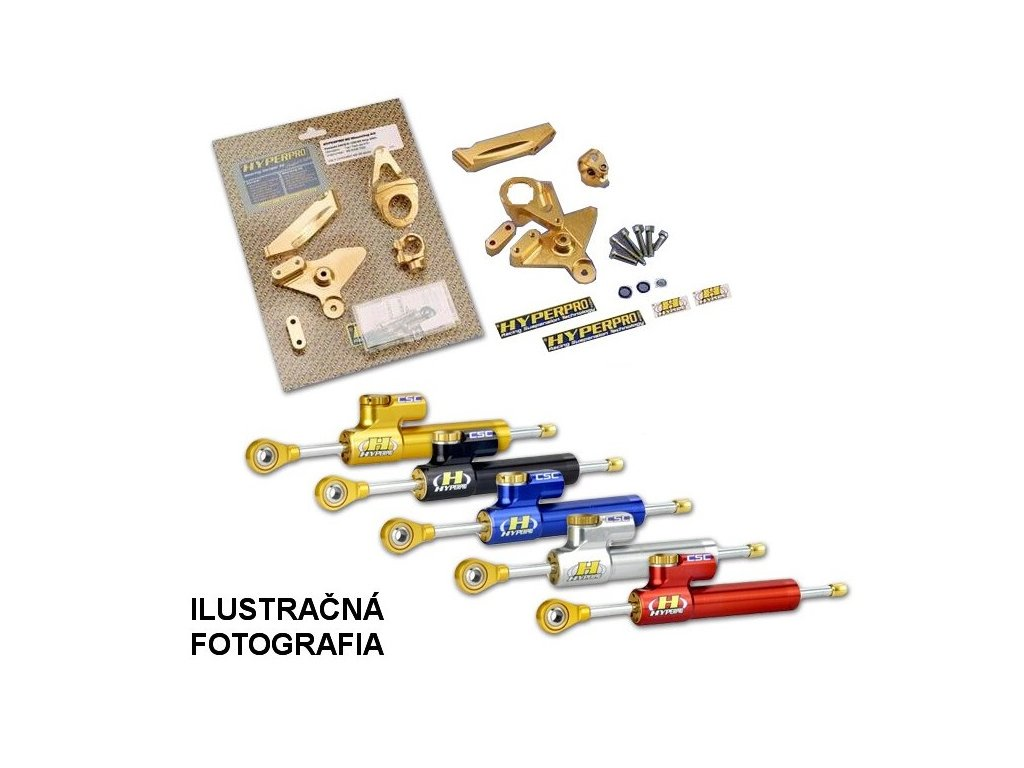 DUCATI 851 STRADA (UPSD) 91-93 Tlmič riadenia HYPERPRO + montážna sada 71 MK-DU08-S001