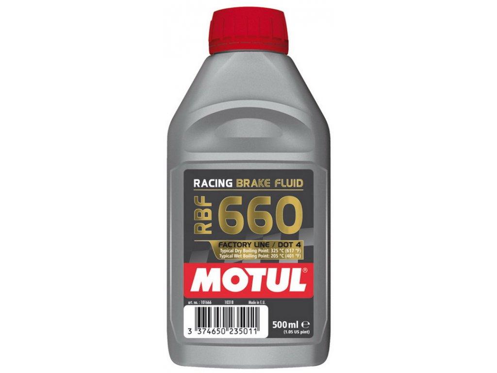 Motul RBF660 FactoryLine brzdová kvapalina 500ml
