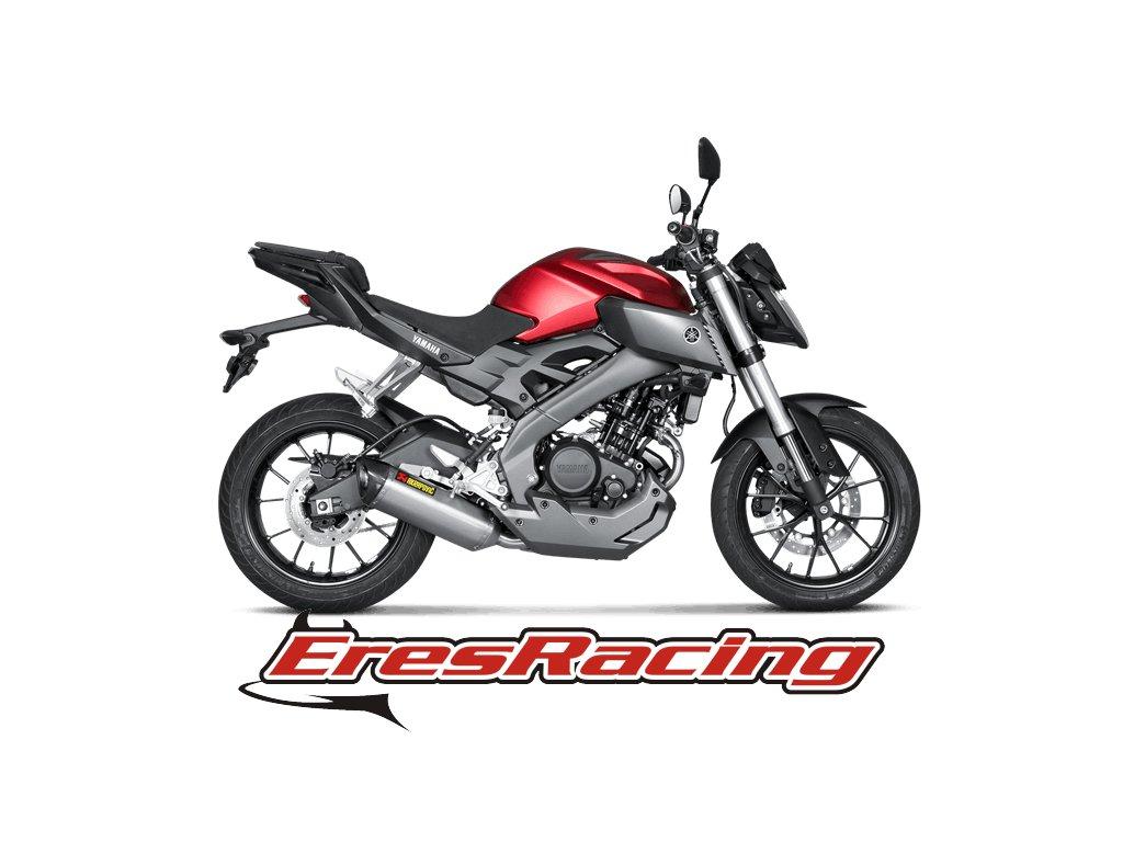 Výfuk Akrapovič Yamaha YZF-R125 14-16 Racing Line