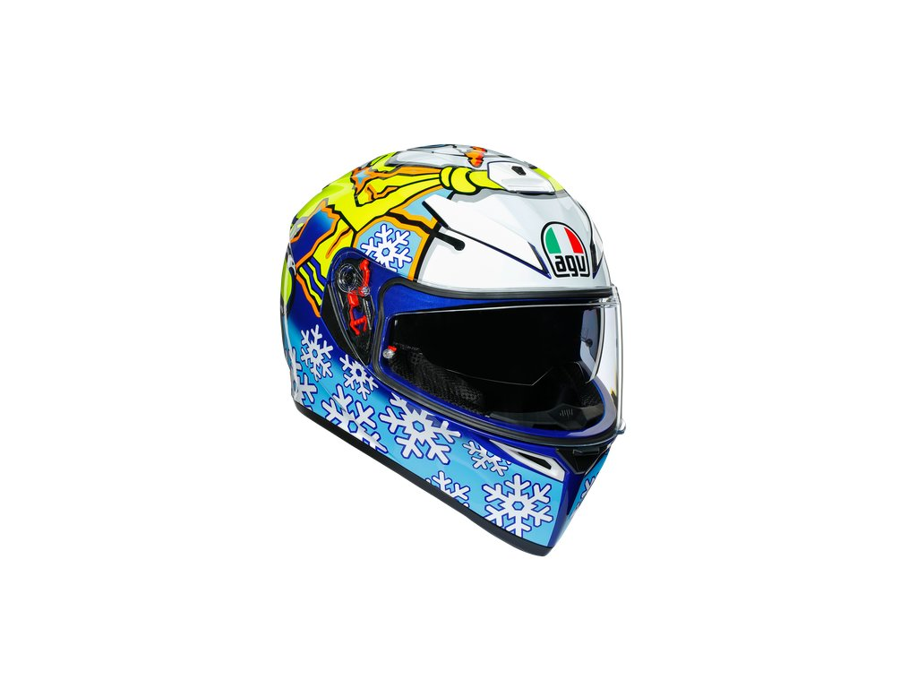 Prilba AGV K-3 SV Rossi Winter Test 2016