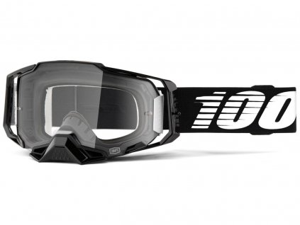 Okuliare ARMEGA 100% Black čire plexi
