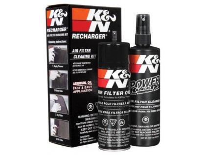 K&N čistiaca sada na vzduchové filtre K&N čistič, olej