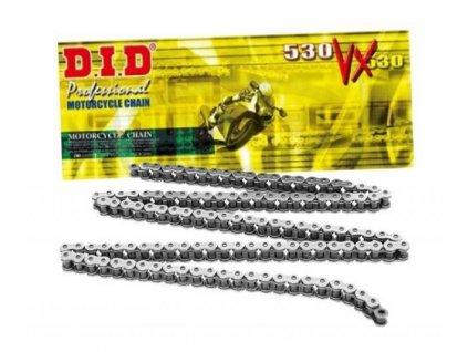 Reťaz D.I.D 530VX čierna pre motocykle