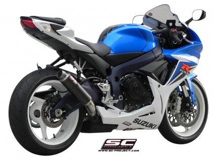 Výfuk SC Project SUZUKI GSX-R 600/750 11-16 GP M2 S09-18C