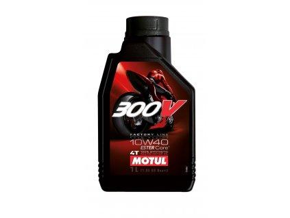 Motul olej 300V 10W40 FactoryLine - 1L ESTER 100% Syntetický