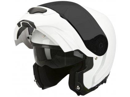 Prilba Scorpion EXO-3000 AIR SOLID gloss white