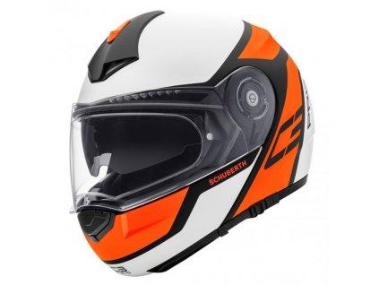 prilba na moto schuberth c3 pro echo orange