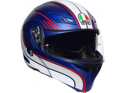 Prilba AGV Compact ST Boston Matt Blue White Red