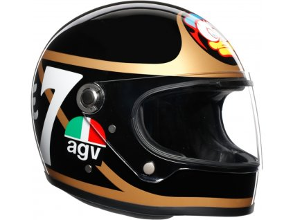 prilba na moto agv x3000 barry sheene