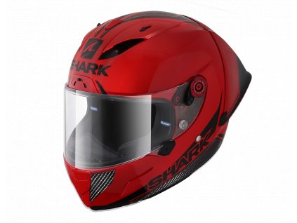 prilba na moto shark race r pro gp 30th annivers carbon white red rdk