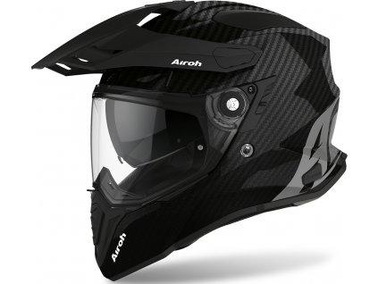 prilba na moto airoh commander carbon
