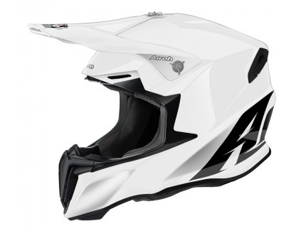 prilba na moto airoh twist 2.0 color white