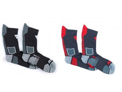 Dainese ponožky D-CORE MID SOCK