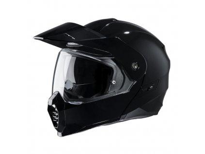 Prilba HJC C80 METAL BLACK lesklá čierna