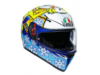 Prilba AGV K-3 SV Rossi Winter Test 2016
