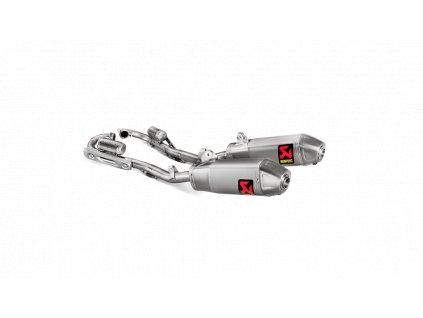 Výfuk Akrapovič Honda CRF 250 R / RX 2018 - 2021 Evolution Line (Titanium) S-H2MET12-CIQTA