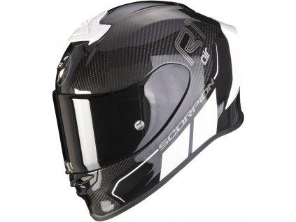 Prilba Scorpion EXO-R1 Carbon Air Corpus II Black White