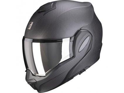 Prilba Scorpion EXO-TECH Carbon Solid matt black
