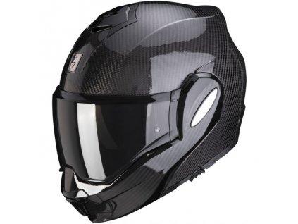 Prilba Scorpion EXO-TECH Carbon Solid black