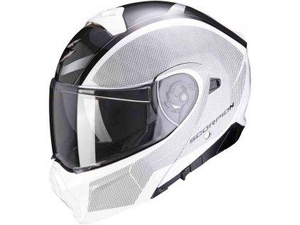 Prilba Scorpion EXO-930 Cielo Pearl White Black