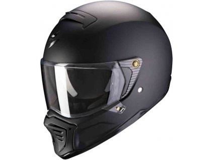 Prilba Scorpion EXO-HX1 Solid Matt Black