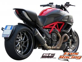 Výfuk SC Project DUCATI DIAVEL 11-14 OVAL D08-01C