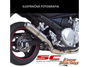 Výfuk SC Project TRIUMPH SPEED TRIPLE 1050 05-06 GP-EVO T04-14T