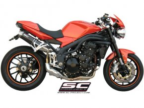 Výfuk SC Project TRIUMPH SPEED TRIPLE 1050 05-06 GP-EVO T04-14C