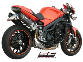 Výfuk SC Project TRIUMPH SPEED TRIPLE 1050 05-06 OVAL T04-12C