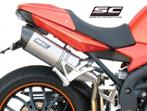 Výfuk SC Project TRIUMPH SPEED TRIPLE 1050 05-06 OVAL T04-12T