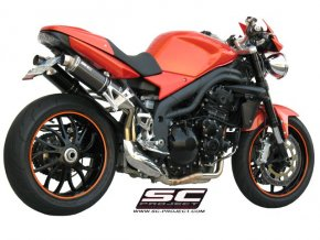 Výfuk SC Project TRIUMPH SPEED TRIPLE 1050 05-06 GP LINE T04-13C