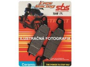 Brzdové doštičky HF Ceramic ZADNÉ SBS