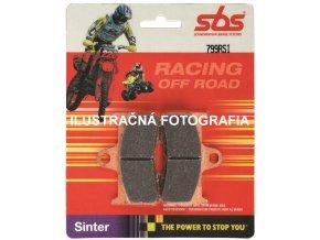 Predné ZMES - RSI RACE Sinter Brzdové doštičky SBS BRAKE PADS