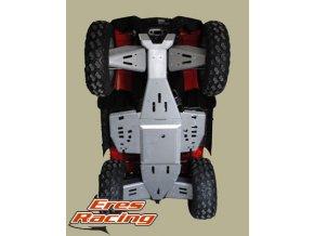 Kryty podvozka POLARIS XP550/850 2010 Touring RICOCHET Set obsahuje kryty + komponenty pre montáž