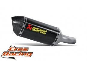 Výfuk Akrapovič Honda CBR 600 F 07-13 Slip-On Line (Carbon)  S-H6SO12-HZC