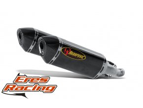 Výfuk Akrapovič Suzuki GSX-R 1000 07-08 Slip-On Line (Carbon) S-S10SO3-HZC