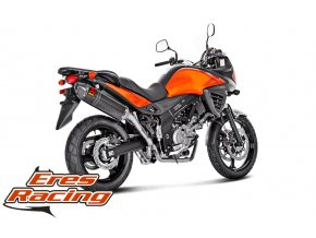 Výfuk Akrapovič Suzuki V-STROM 650 04-16 Slip-On Line (Carbon) S-S65SO3-RC