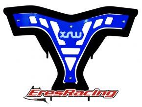 Predný nárazník X16 YAMAHA 700R modrý XRW Racing