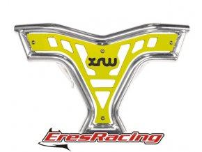 Predný nárazník X16 SUZUKI LTR 450 žltý XRW Racing