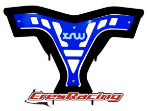 Predný nárazník X16 YAMAHA YFZ 450 modrý XRW Racing