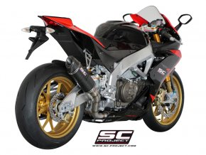 Výfuk SC Project APRILIA RSV4  FACTORY/R/APRC 09-14 OVAL RACING A04-40C