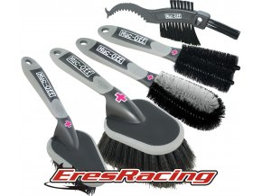 MUC-OFF Brush set 5x - Sada piatich kefiek