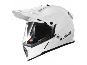 Prilba LS2 MX436 Pioneer Gloss White