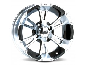 Disk ITP SS112, 12x7 (2+5) Machined w/Black 4/110
